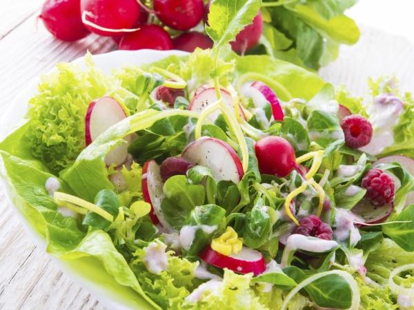 le radis une salade riche