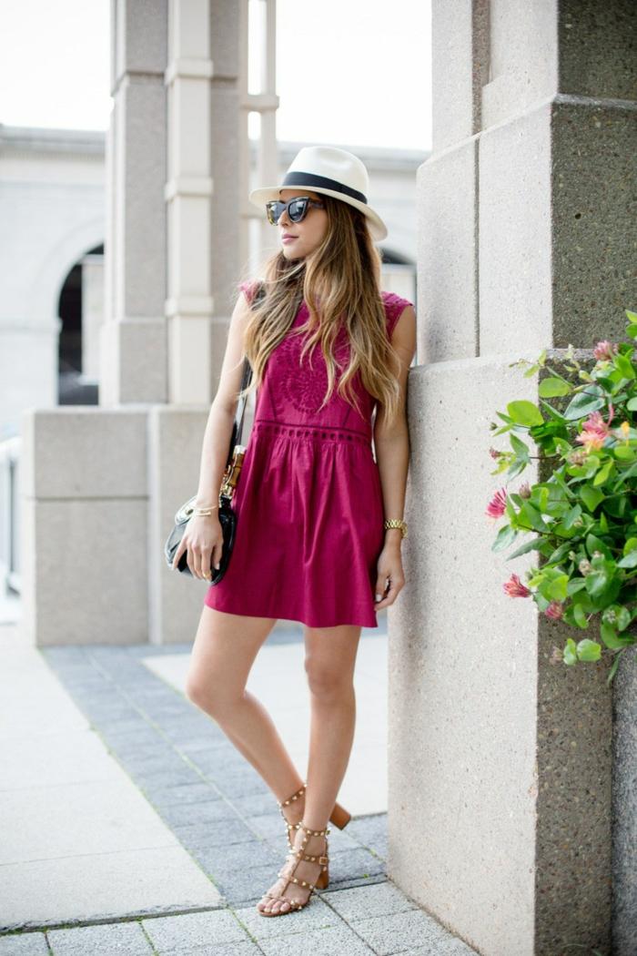 look casual idée avec une robe estivale