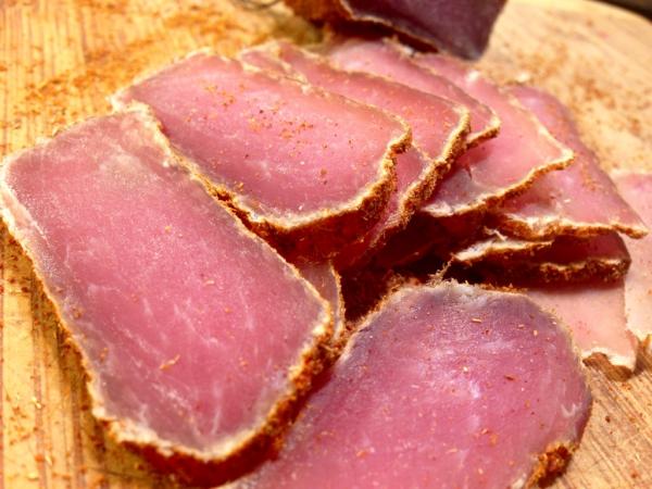 mal de tête de la viande séchée