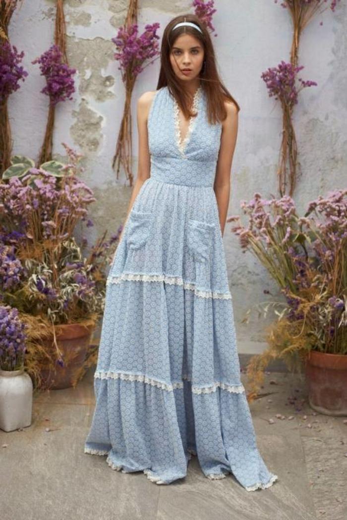 mode pour la saison estivale idée robe estivale 2019