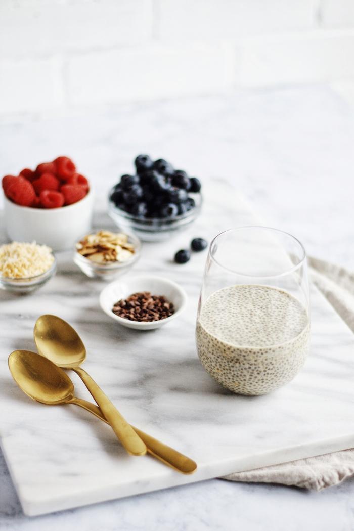 myrtilles-petit-déjeuner-chia-lutter-contre-la-cellulite