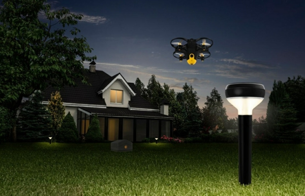 photos nocturnes sécurité drone amazon