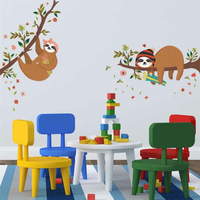 pour une chambre enfant plus jolie opter pour le paresseux