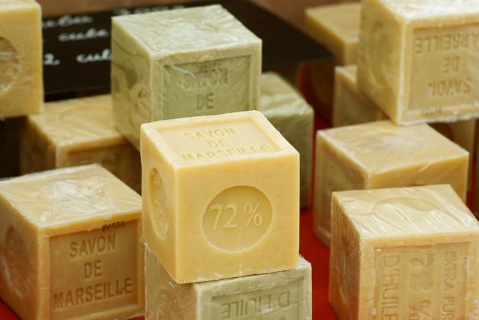 produits cosmétiques savon de marseille