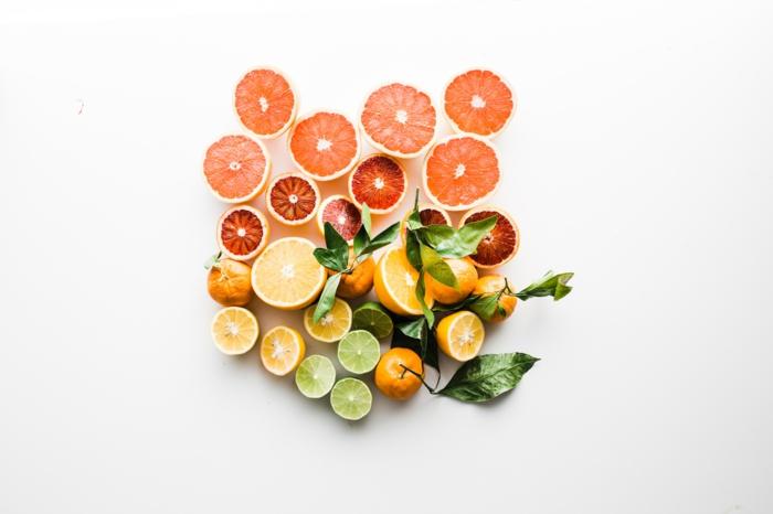 produits de beauté bio fruits
