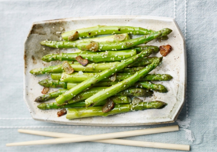 recette asperges lutter contre la cellulite