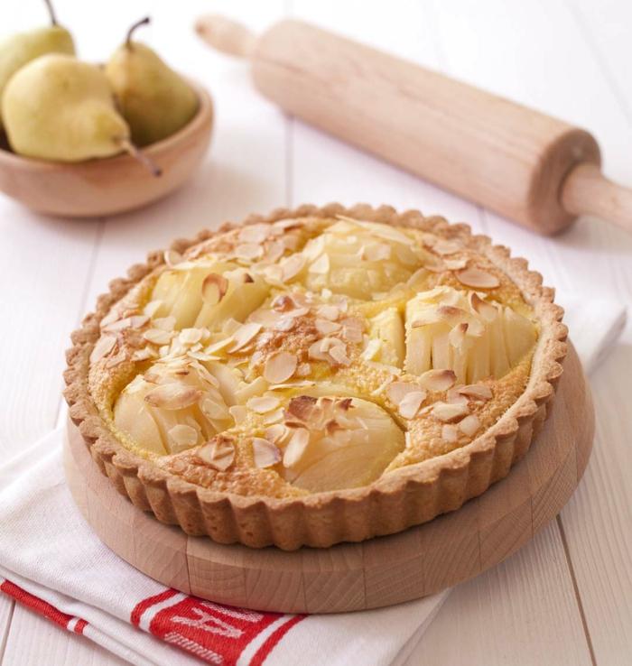recette tarte bourdaloue aux poires