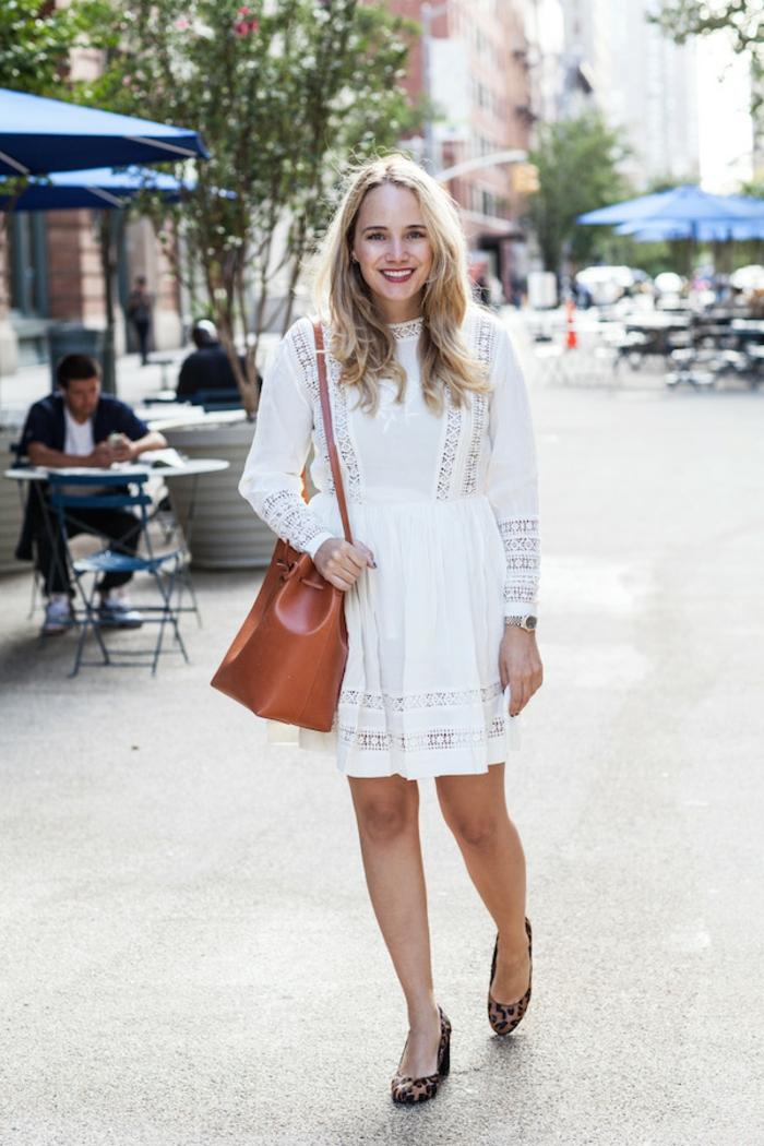 robe estivale blanche idée comment porter