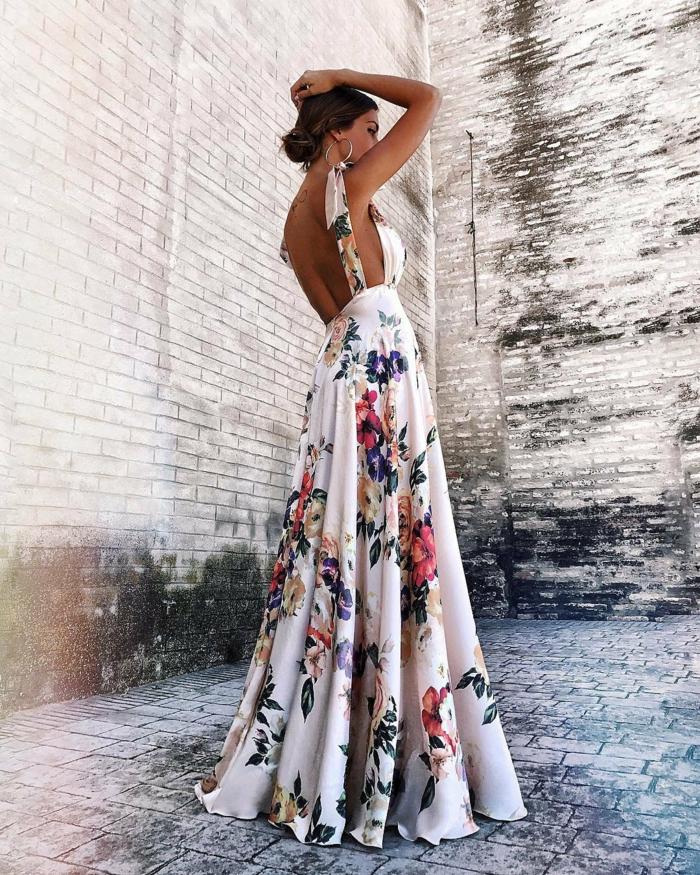 robe estivale dos nu