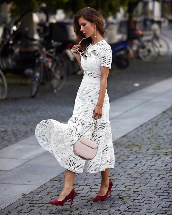 robe estivale idée comment la porter