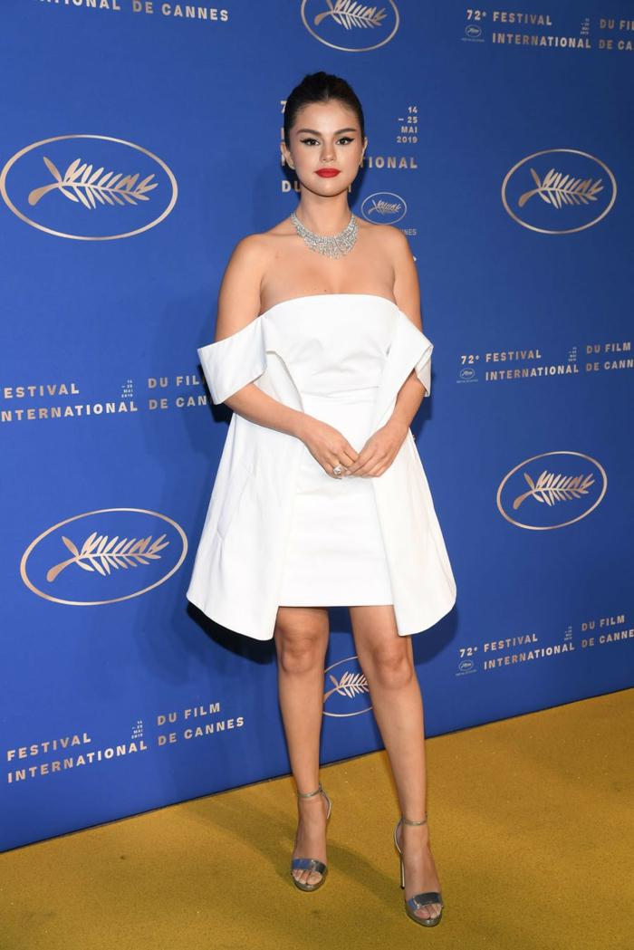 robe-estivale-style-célébrités-selena-gomez