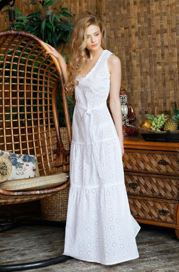 robe longue robe estivale été 2019