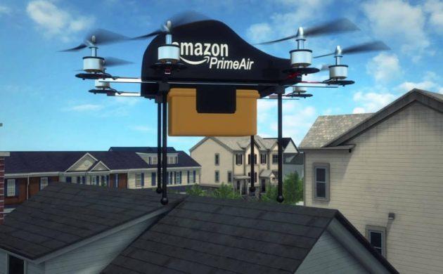 drones d'amazon