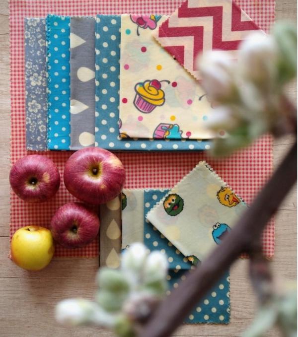 serviettes de cuisine et emballage choix de motifs