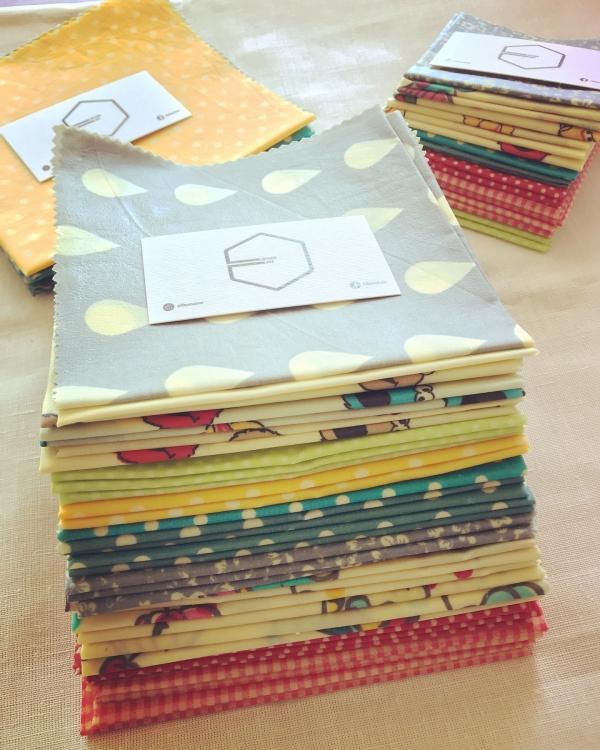 serviettes de cuisine et emballage en production