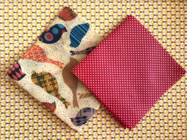 serviettes de cuisine et emballage jolies serviettes
