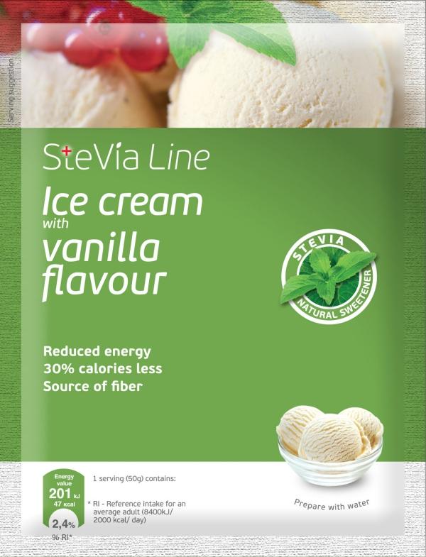 stévia sucre de la glace