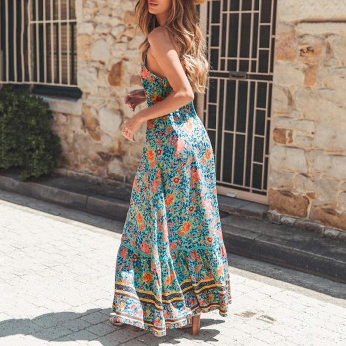 style boho robe estivale 2019