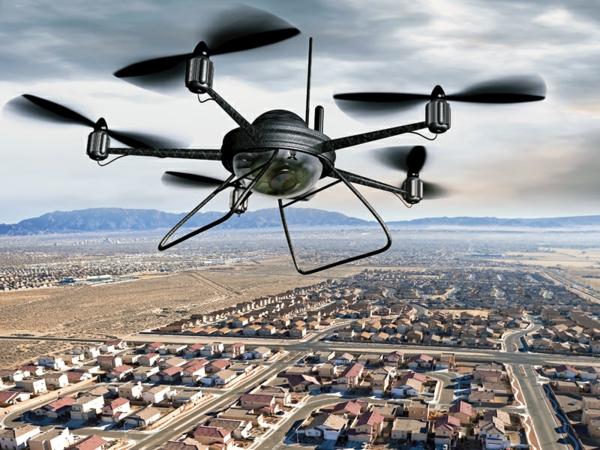 surveillance de domicile par drone