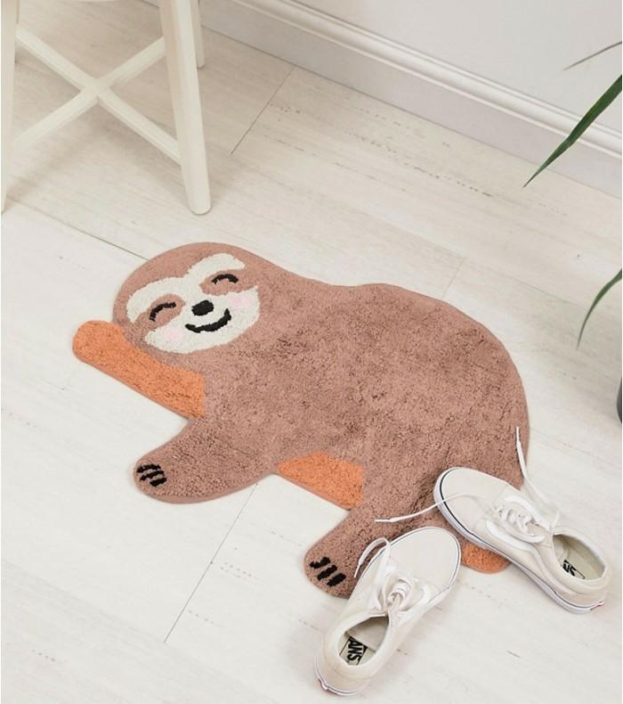 tapis de chambre enfant le paresseux
