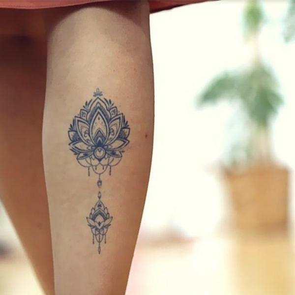 tatouage éphémère au jagua mollet femme