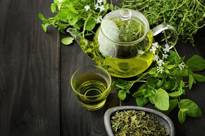 thé vert pour lutter contre la cellulite