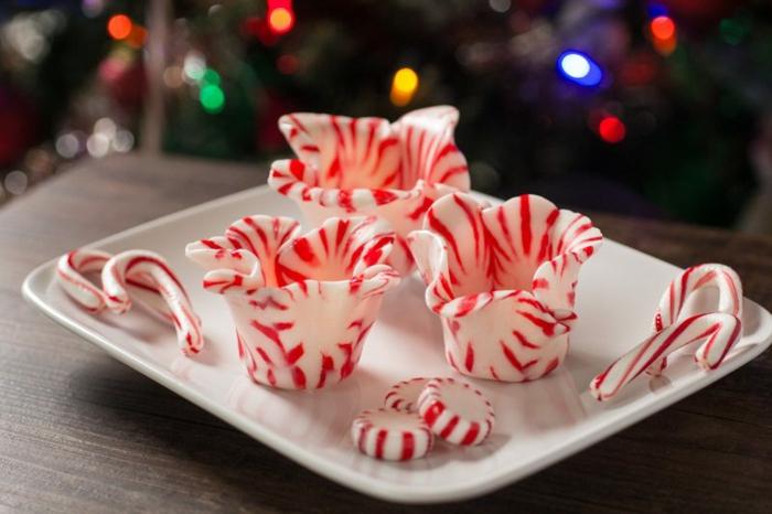 vaisselle comestible au caramel