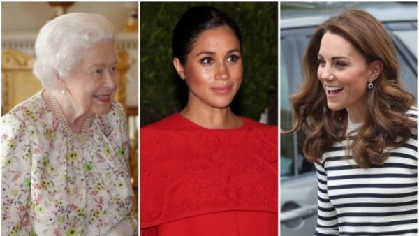 Élisabeth II deux duchesses