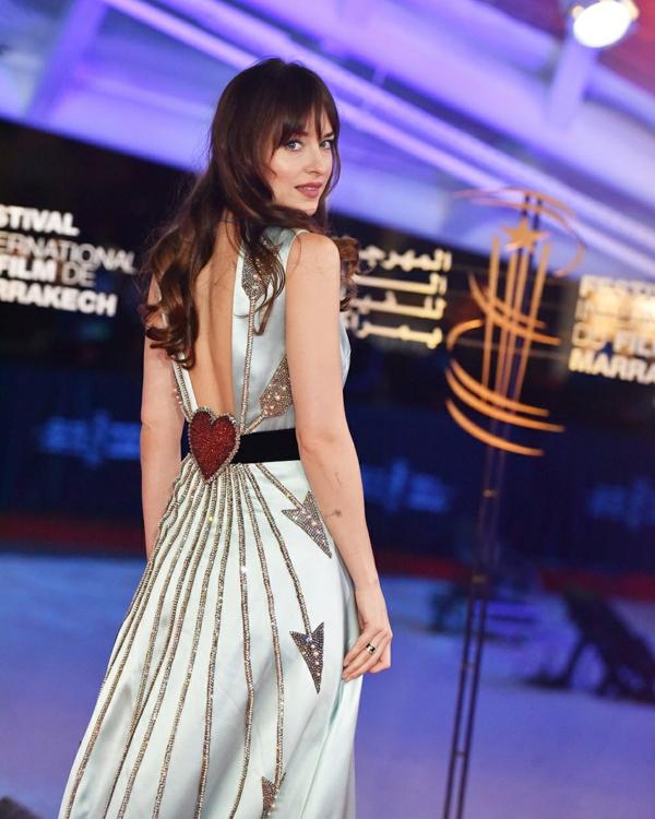 17ème Festival International des films à Marrakech Morocco 08 Dec 2018 Dakota Johnson