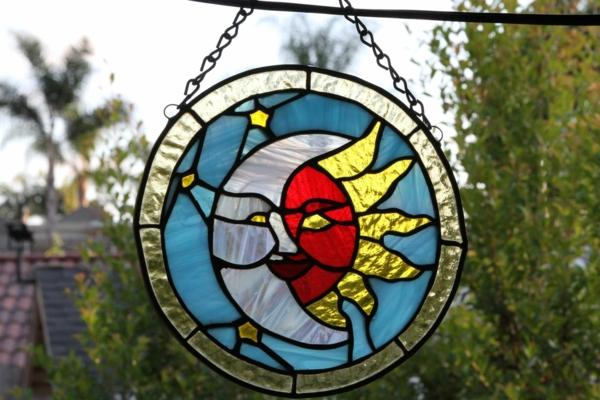 Attrape-soleil à fabriquer peinture sur verre métal