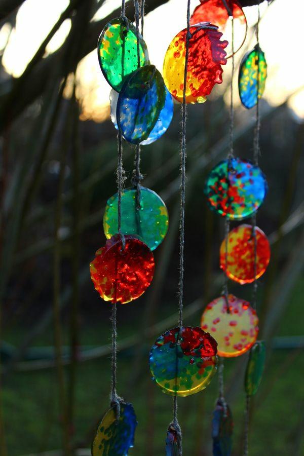 Attrape-soleil à fabriquer perles en plastique ficelle