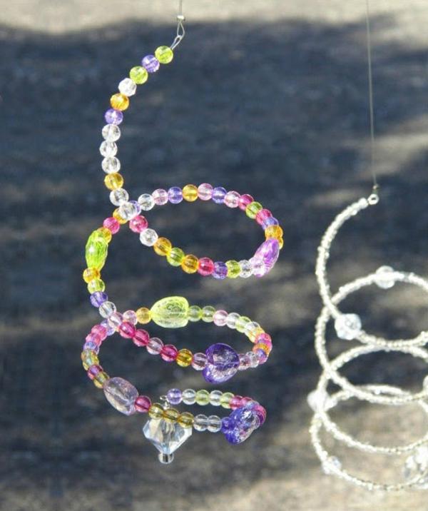 Attrape-soleil à fabriquer perles en plastique fil métallique