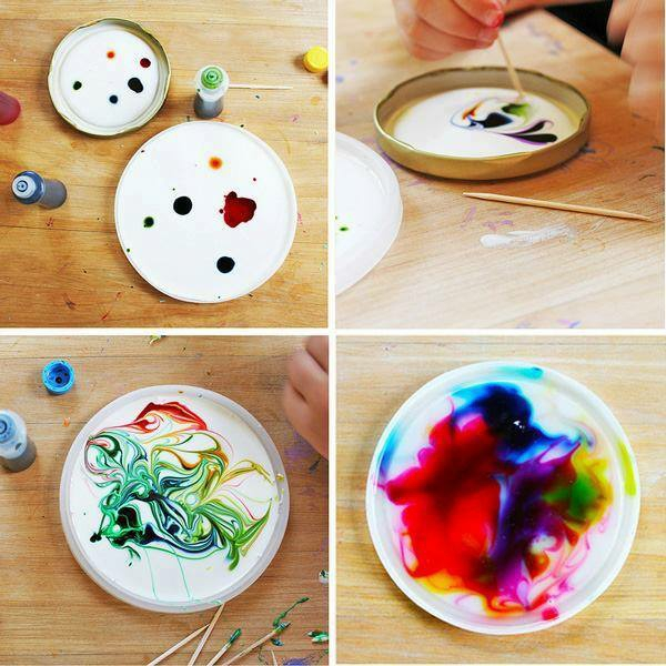 Attrape-soleil diy colorants alimentaires