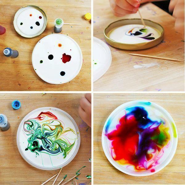 Attrape-soleil diy colorants alimentaires