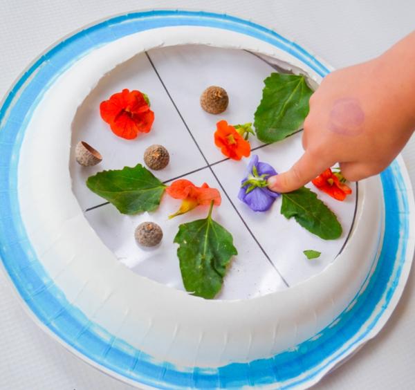 Attrape-soleil mandala avec des fleurs