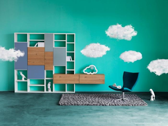 BIBLIOTHÈQUE DESIGN BELLAGIO Crozatier meuble de rangement salon