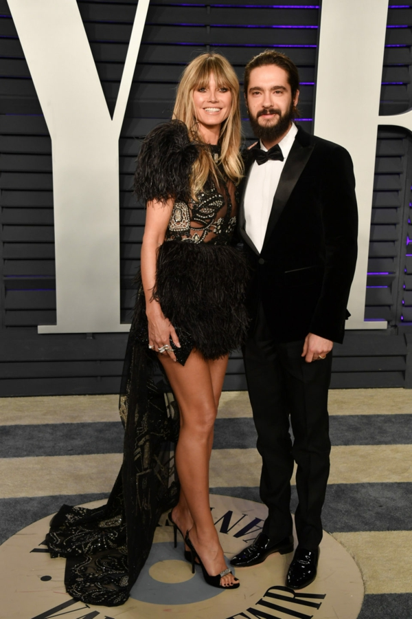 2019 Vanity Fair Oscar Party Heidi Klum et Tom Kaulitz en février 2019 after party des Oscars