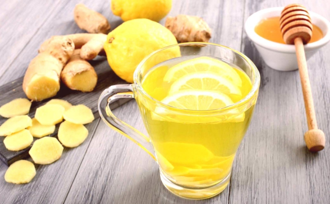 aliments contre la diarrhée du citron et du gingembre