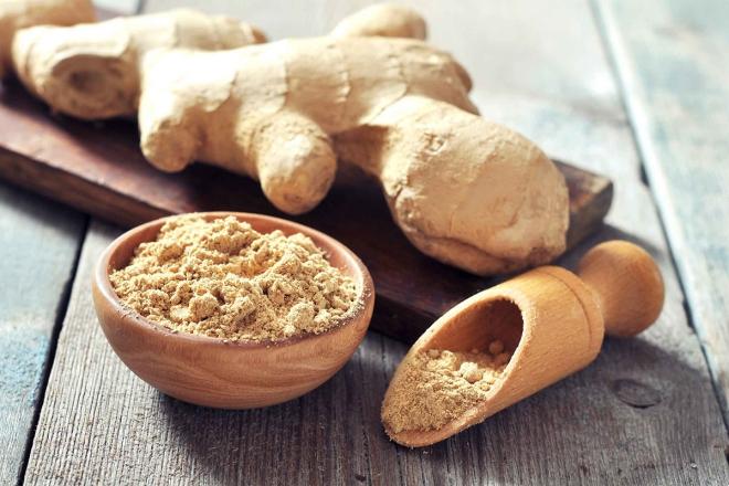 aliments contre la diarrhée gingembre en poudre