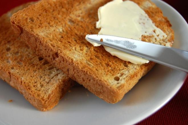 aliments contre la diarrhée tartines grillées
