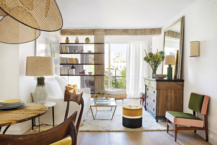 aménagement petit appartement ameublement fonctionnel