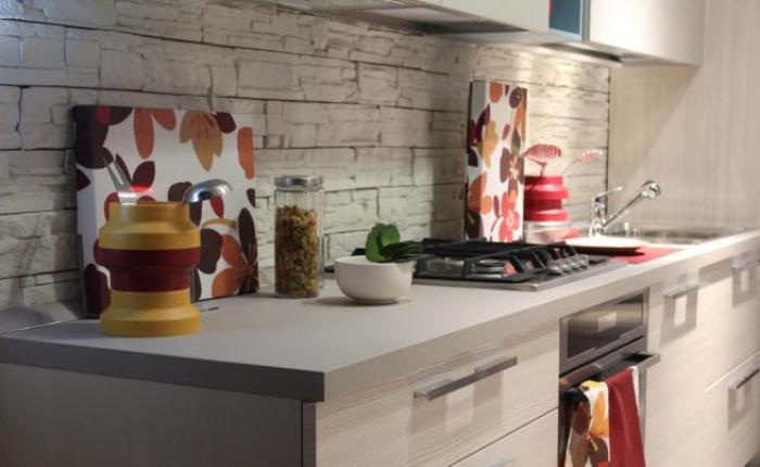 aménagement petit appartement cuisine minimaliste