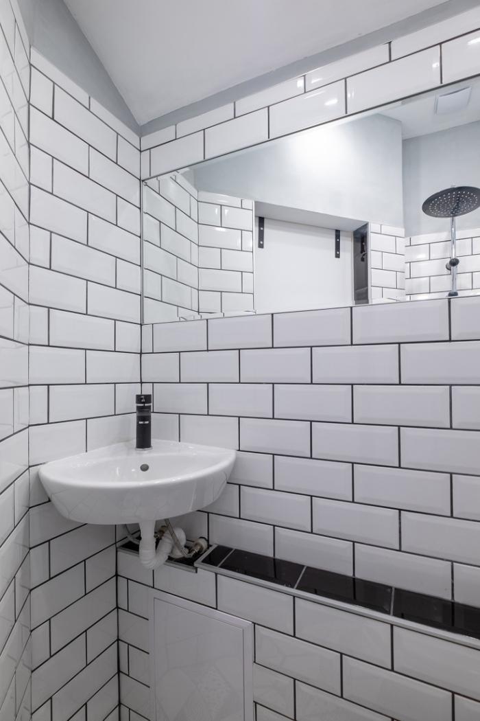 aménagement petit appartement petit évier
