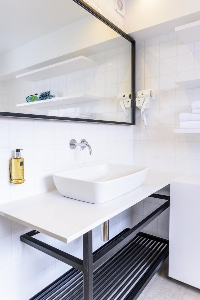 aménagement petit appartement petite salle de bains