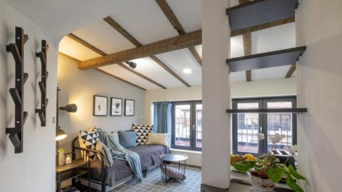 aménagement petit appartement un grenier de 17m2