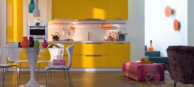 aménager appartement 45m2 cuisine et coin-repas