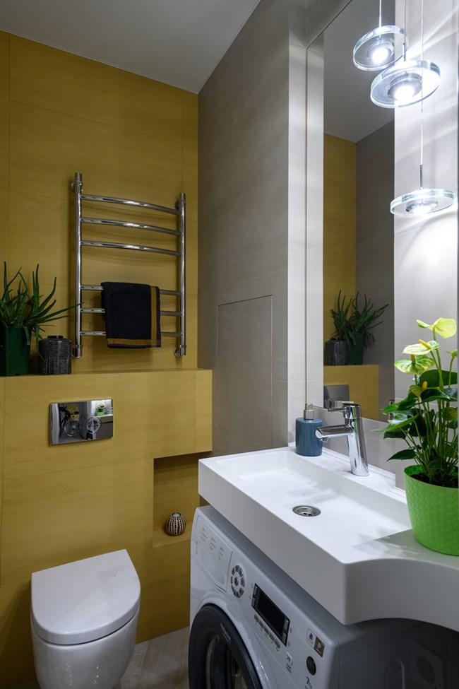 aménager appartement 45m2 salle de bains