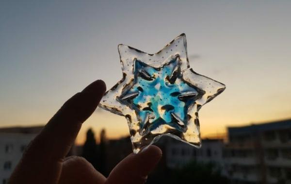 attrape-soleil à fabriquer soi-même en plastique