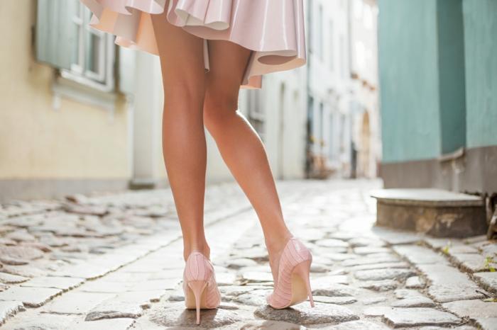 avoir de belles jambes et porter votre robe estivale