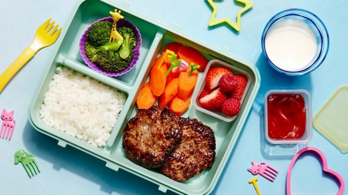 boîte bento déjeuner enfant idée